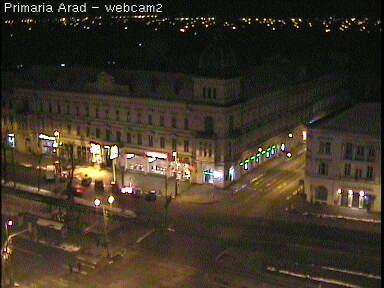 Web Camera View from Arad City Hall Tower , Arad, Romania