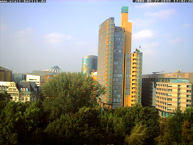 Web Camera Live-Webcam of the Berlin Tourismus Marketing GmbH , Berlin, Germany