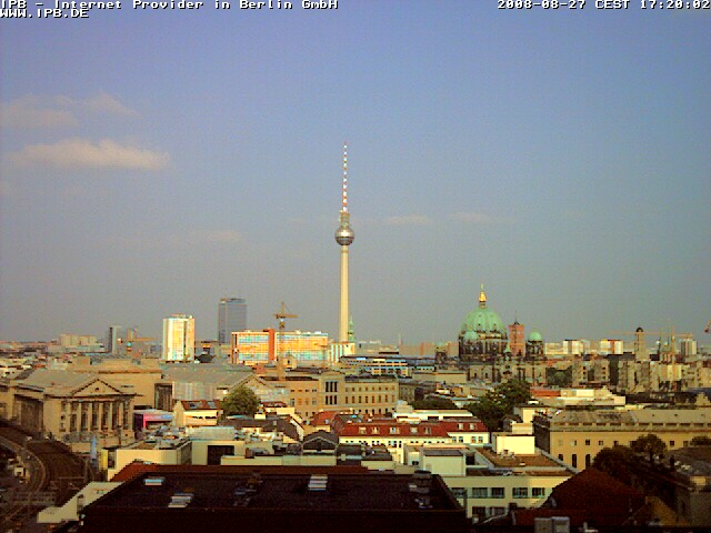Web Camera View of Berlin 2 , Berlin, Germany