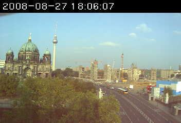 Web Camera View of Berlin 3 , Berlin, Germany