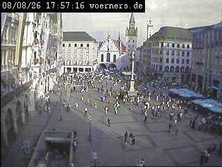 Web Camera Marienplatz 2,  Munich , Munich, Germany