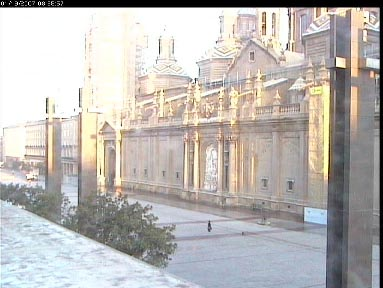 Web Camera Plaza del Pilar, Saragossa , Saragossa, Spain