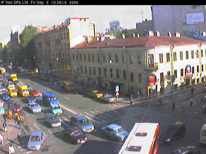 Web Camera Vasili Island , Sankt Peterburg, Russian Federation